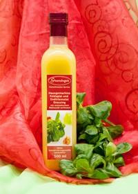 Herbst/WinterFeldsalat- und Endiviensalatdressingmit aromatischem Walnussöl verfeinert.  -Saisonal erhältlich-