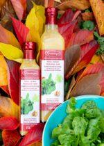 Mit aromatischem Walnussöl und Himbeeressig verfeinert.