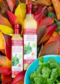 Herbst/WinterMit aromatischem Walnussöl und Himbeeressig verfeinert. -Saisonal erhältlich-