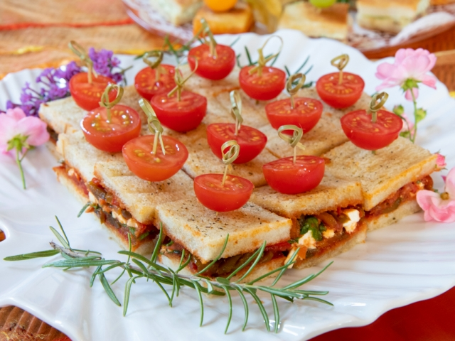 Mini Sandwich Veggie